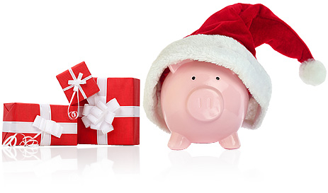 Christmas Savings Club Pig